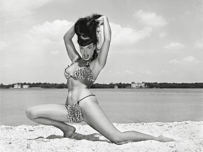 Bettie Page - COURTESY