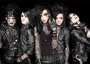 Black Veil Brides celebrate new album at Backstage Live