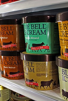 So far, Blue Bell Ice Cream products found in gas stations and grocery stores have not been linked to the bacterial contamination that was a factor in the deaths of three Witchita, Kansas, hospital patients.