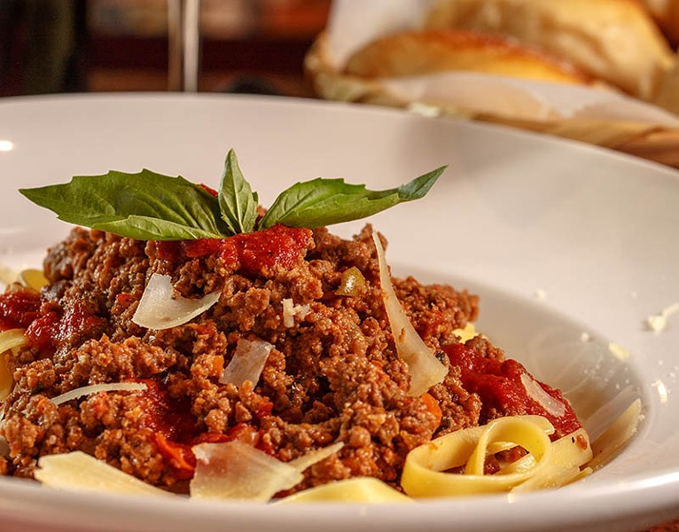 Bolognese from Luciano offshoot Va Bene Pizzeria Napoletana - CASEY HOWELL