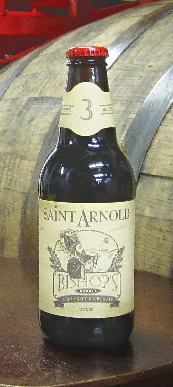 Bottles of Bishop's Barrel No. 3 will be available Thursday, July 25 - COURTESY PHOTO