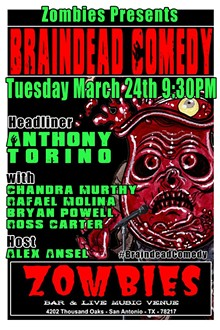 ALEX ANSEL - BRAINDEAD COMEDY SHOW ONLY AT ZOMBIES