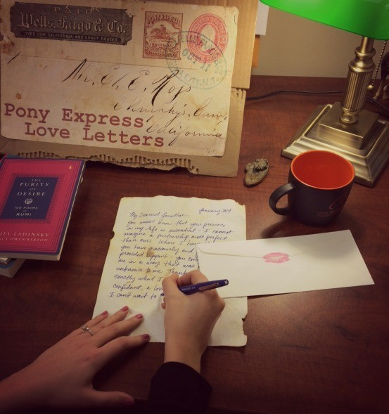 Send handwritten love letters this year with the help of the Briscoe Western Art Museum and B-Cycle. - COURTESY