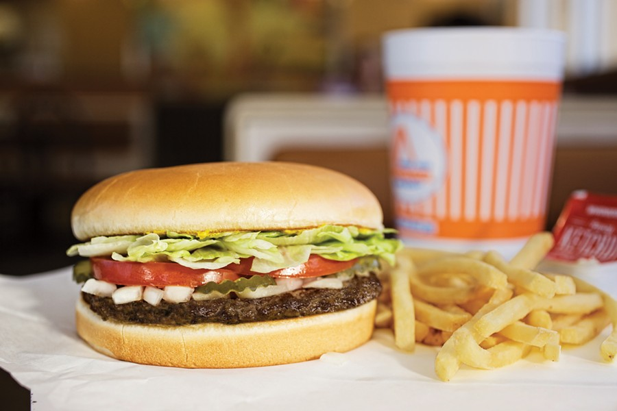 Homegrown chains like Whataburger help Texas take the number one spot of a state-by-state ranking of fast food. - COURTESY WHATABURGER