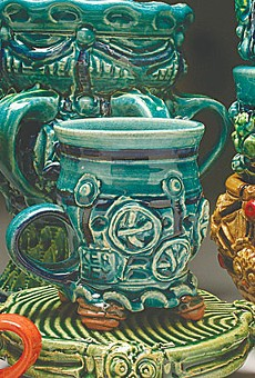 Ceramic vessels by Diana Kersey