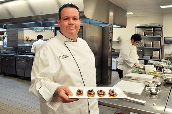 Chef Miguel Ortiz - COURTESY