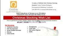 ChildSafe Halos Stocking Gift Drive
