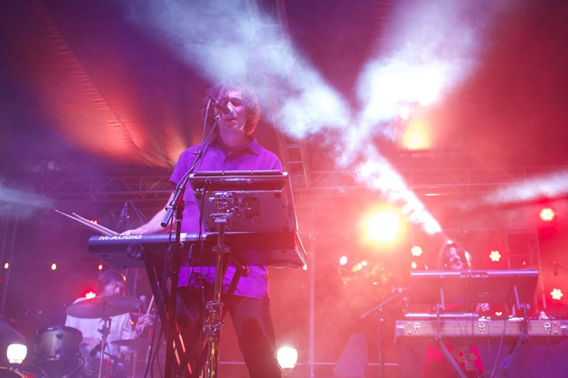Chill wave act Washed Out performing at the Maverick Music Festival. - FILE PHOTO