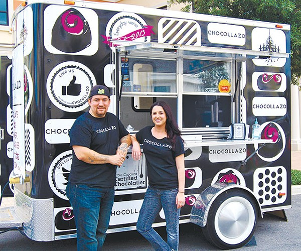 Chocollazo gets in gear for Eat St. appearance - COURTESY PHOTO