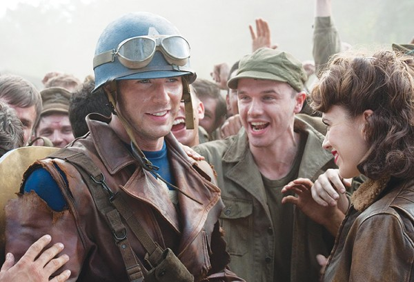 Chris Evans rallies his band of brothers in Captain America: The First Avenger. - COURTESY PHOTO