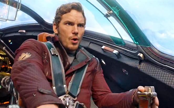 Chris Pratt of Guardians of the Galaxy - COURTESY