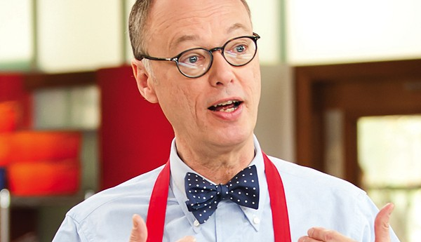 Christopher Kimball of 'America's Test Kitchen' - COURTESY