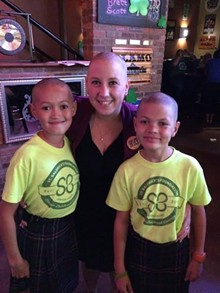 PAUL HARRIS - Come cheer on the brave, bald, and beautiful!