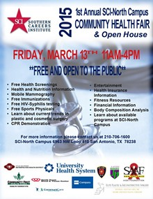 RC/AF - Community Health Fair Flyer
