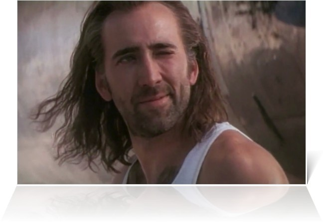 Con Air Nicolas Cage is the best Nicolas Cage. - COURTESY