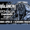 Avalanche Tour with Stone Sour, Theory of a Dead Man, Skillet, Halestorm and Art of Dying