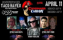 Crosshairs Comedy at Taco Haven
