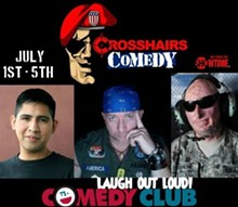 Crosshairs Comedy Military Appreciation Week