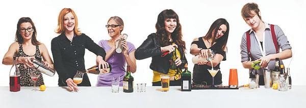 Dakotah Brown, Christine Hill, Polly Cox, Krystal Little, Vikki Buchanan, Karah Carmack - PHOTOS BY JOSH HUSKIN