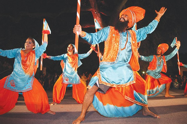 Dancers from Punjab, India - COURTESY OF CITY OF SAN ANTONIO