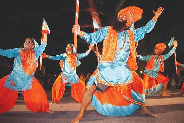 Dancers from Punjab, India - COURTESY OF CITY OF SAN ANTONIO