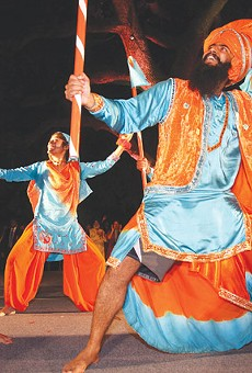 Dancers from Punjab, India