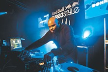 COURTESY RED BULL - Dee during his 15-minute winning set at the Thre3style Southern region championships