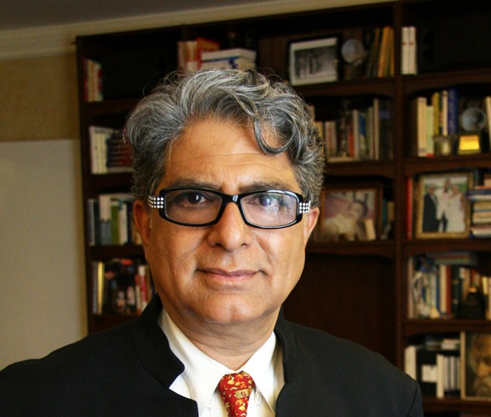 New Age guru Deepak Chopra is coming to share his brand of age-old wisdom. - COURTESY