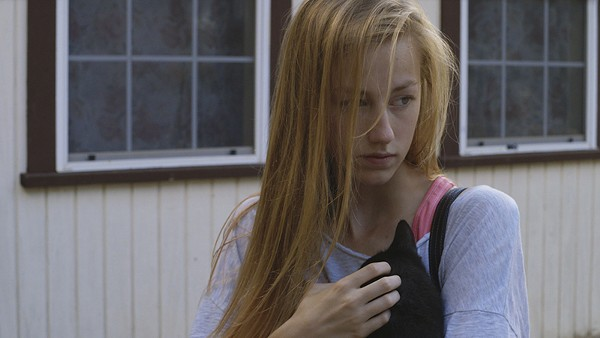 Devon Keller plays a student facing an unplanned pregnancy in Micah Magee's film Petting Zoo. - COURTESY