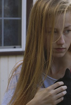 Devon Keller plays a student facing an unplanned pregnancy in Micah Magee's film Petting Zoo.