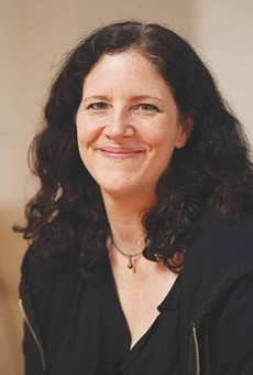 Director and producer Laura Poitras
