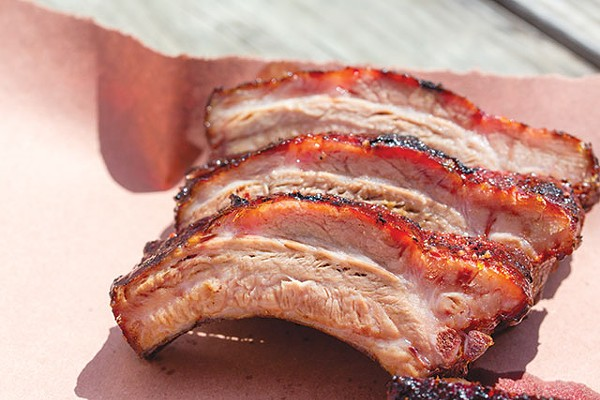 Ditch the sauce—these ribs are great on their own - CASEY HOWELL