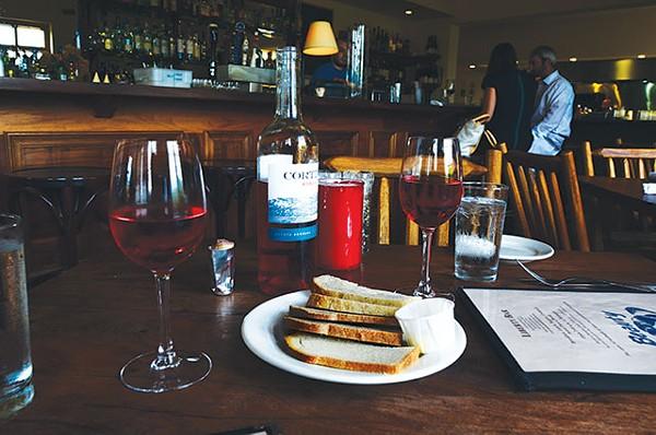 Don't fill up on bread; go for a full-bodied wine - JESSICA ELIZARRARAS