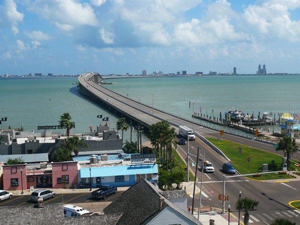Thousands of spring breakers will cross the Queen Isabella Causeway from Port Isabel to South Padre Island in March. - WIKIPEDIA