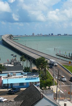 Thousands of spring breakers will cross the Queen Isabella Causeway from Port Isabel to South Padre Island in March.