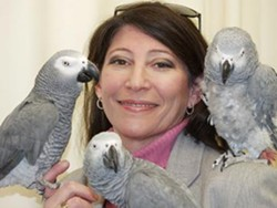 Dr. Irene Pepperburg and friends