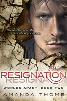 Early release and signing of Resignation, book two of the Worlds Apart trilogy