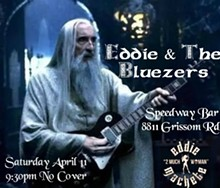 Eddie & the Bluezers Saturday April 11, 2015