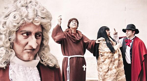 Elijiah Rios, Kevin Murray, Pamela Dean Kenny - PHOTO BY TROY WISE