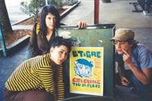 COURTESY PHOTO - Fateman, Hanna, and Samson on tour with Le Tigre.