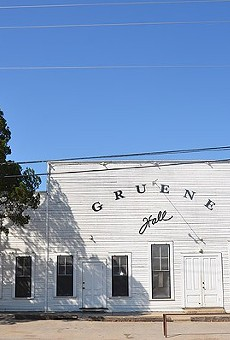 Built in 1878, Gruene Hall Celebrates its 40th anniversary as a music joint this weekend.