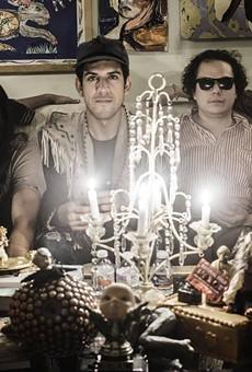 The Flower Jesus boys in spooky regalia