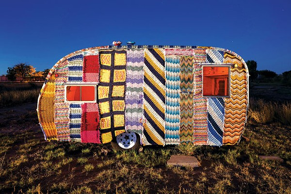 SCOTT MARTIN, QUILTED TRAILER.