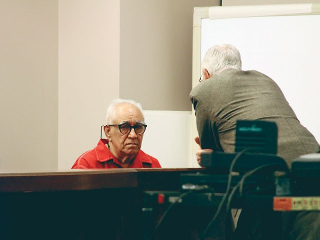 Frank Navarijo, 74, at a court hearing to re-examine his case in November, 2012. - MICHAEL BARAJAS