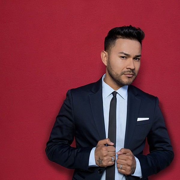 Frankie J performs Saturday at Big League Weekend