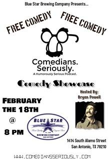 BOB R. & BRYAN P. - Free Comedy Showcase!!!!
