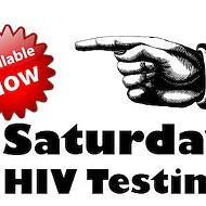 Free HIV testing Saturdays