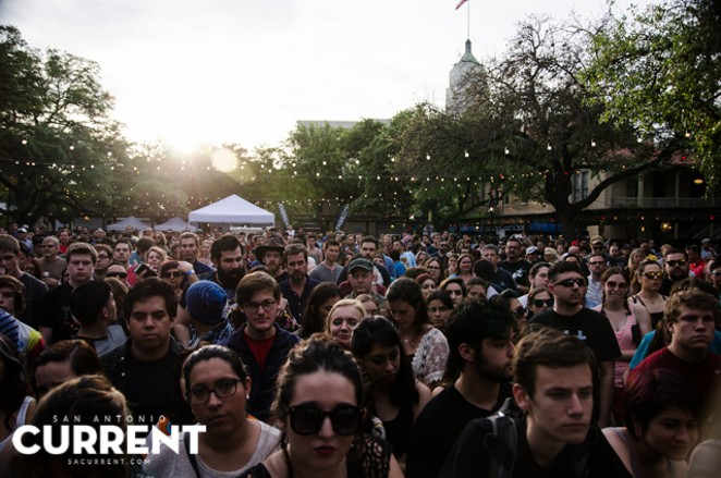 Friday's Maverick Music crowd - JAIME MONZON