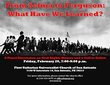 "DR. BILL BUSH - ""From Selma to Ferguson:  What Have We Learned?"""