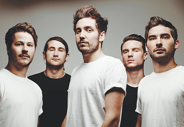 From Wembley to the White Rabbit—You Me at Six's SA gig should be a piece of cake - COURTESY PHOTO